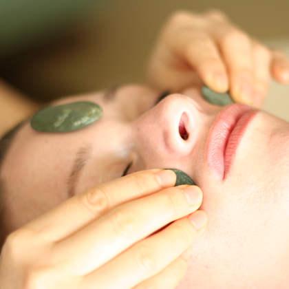 Hot Stone Facial Treatment