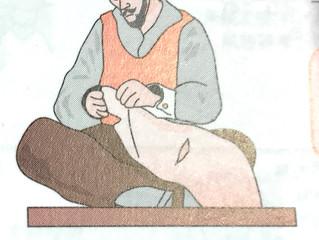 人体最長の筋肉、身体の真ん中からひざ下へ。深い部分へのアプローチは精油とともに優しく。