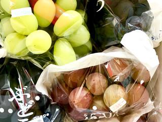 葡萄・ありがとうございます。