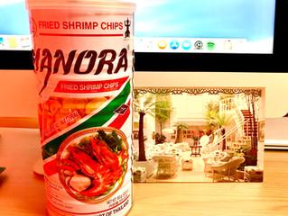 Thailand. FRIED SHRIMP CHIPS!