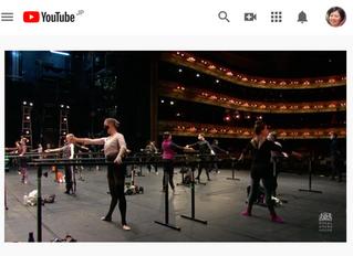 昨夜のWorld Ballet Day