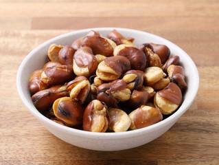 イカリ豆を食べてて発見した事。