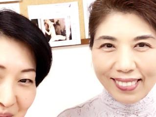 尊敬する祥子先生と私のほうれい線の巻