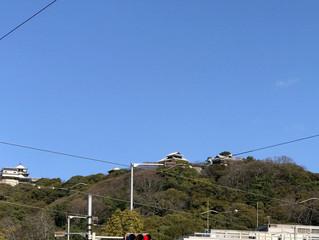 とってもいいお天気♡in Matsuyama.