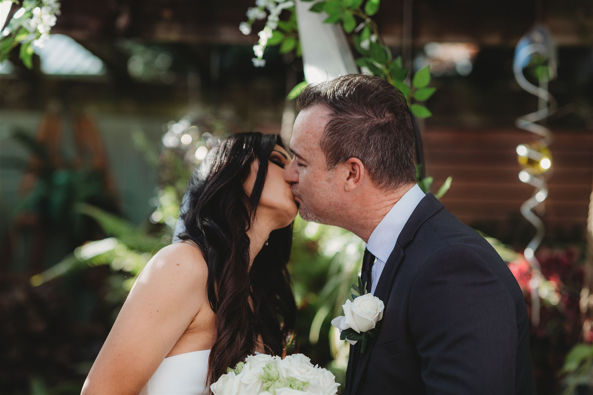 Christina + David