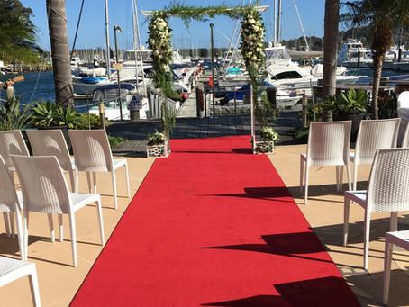 A Royal Motor Yacht Club Wedding