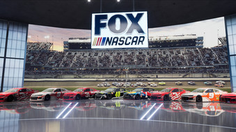 FOX體育頻道將在NASCAR新賽季推出業界最先進和震撼的攝影棚效果!