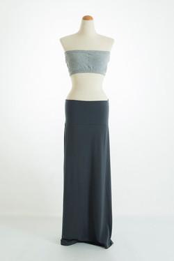 ライトグレーブラ × グレースカート