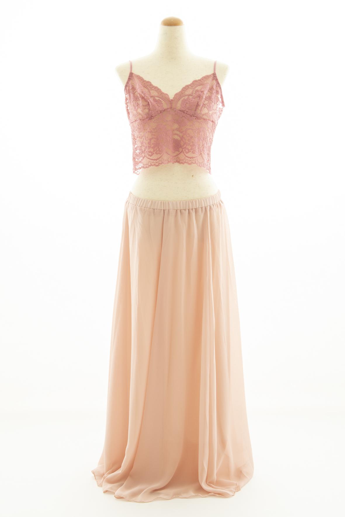 チェリーキャミ × スカート