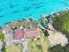 Garden & Private beach