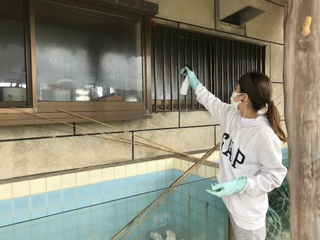 飲食店からホテルへ変身の一歩〜年始大掃除〜