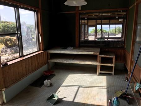 Shima Hotel完成までの道のり DIY浴室編