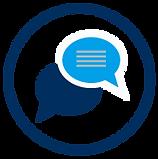 Ferienwohnung vermieten: Kommunikation (Icon)
