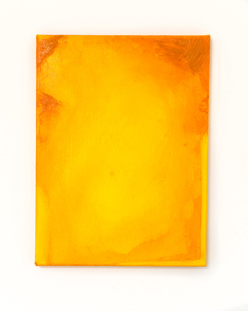 Indian Yellow Study no. 1 (Discovering Phosphorous)