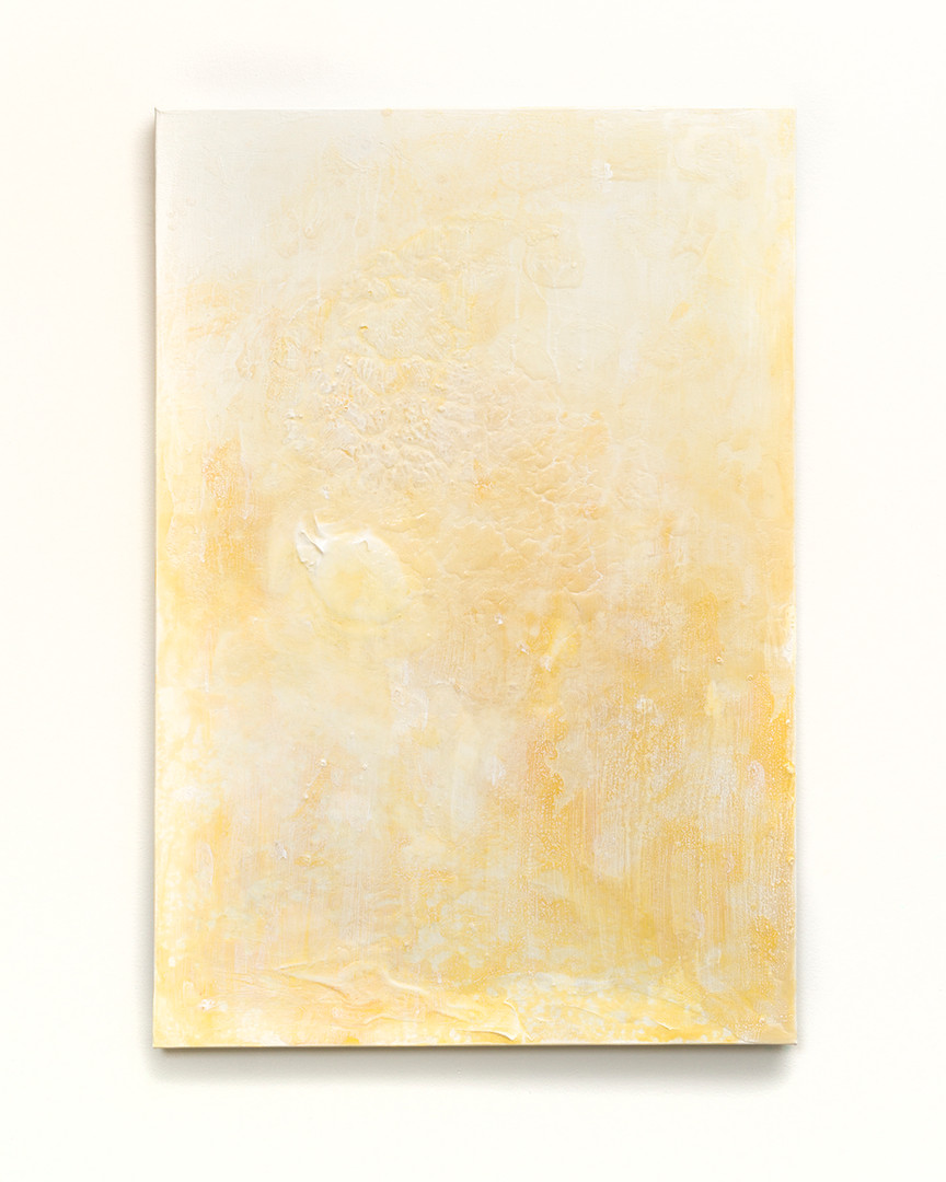 Indian Yellow Study no. 8 (Morning Shade)