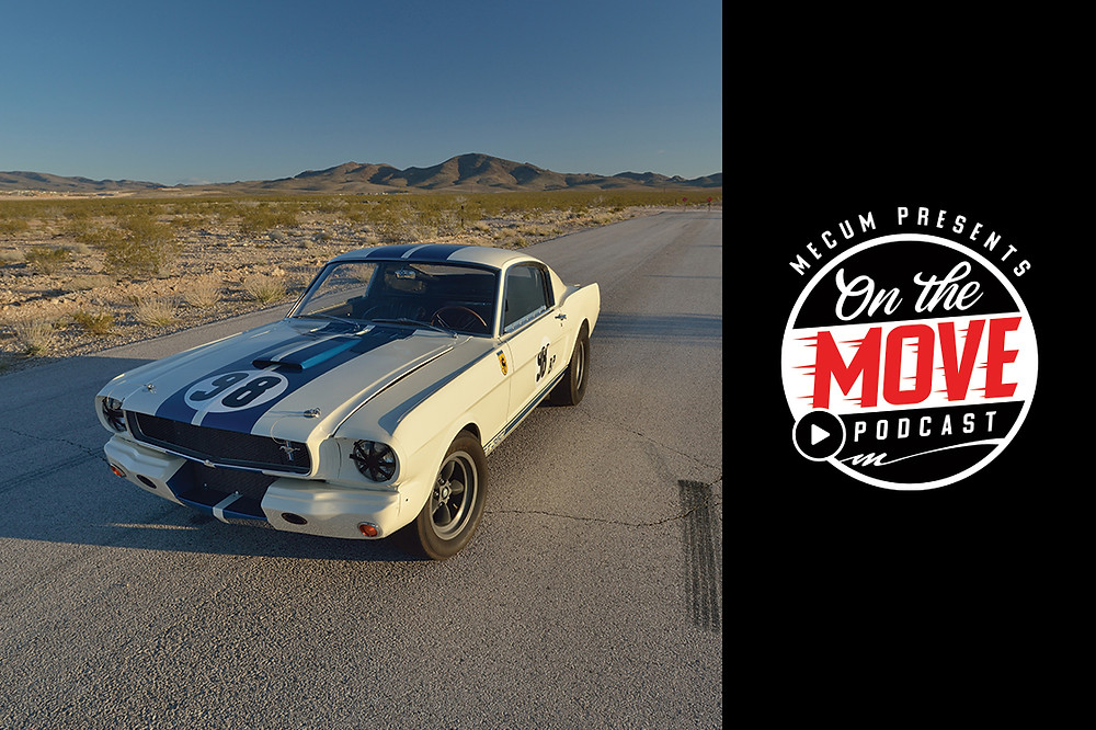 This On The Move focuses on the Shelby vehicles in the John Atzbach Collection.