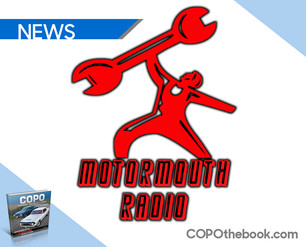 Motor Mouth 90.3 FM Radio Features Matt Avery To Discuss his new book, COPO