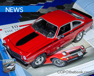 Autoworld Releases 1972 Yenko Vega Diecast Modeled After Example in Matt Avery's COPO book