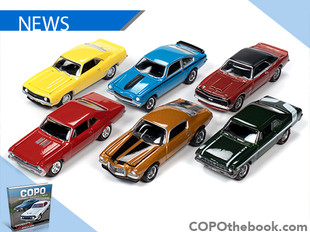 Johnny Lightning & Matt Avery release Diecast COPO Cars