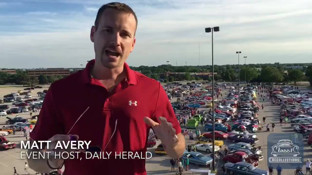 A big thank you to all the cruisers that came out tonight to the Stratford Square Mall for our July show! Such a great night! Catch this quick message from our event host, the Daily Herald's Matt Avery. Hope everyone had a safe drive home & see ya in