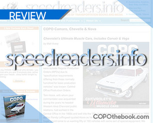 Online Book Reviewer Speedreaders Reviews Matt Avery's latest book, COPO