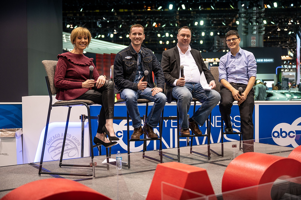 Roz Varon, Matt Avery, Tim Healey & Kelsey Mays discussed the latest in automotive innovation.