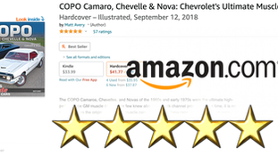 COPO the book Surpasses 50 Five-Star Reviews on Amazon.com