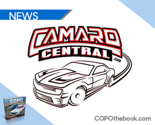 'Camaro Central' Now Carrying Matt Avery's COPO Book