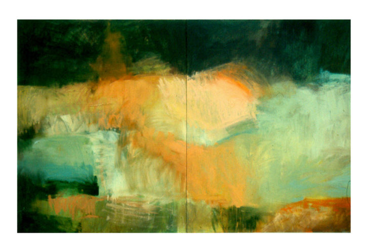 untittled, 1996, oil on canvas, 180 x 280 cm