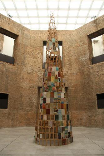 babel, 2007, octogon, pinacoteca do estado, são paulo, h 900 cm