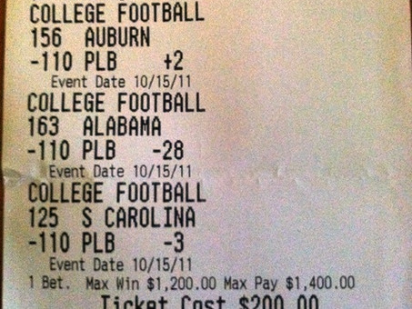 The Fine Tuning Parlay