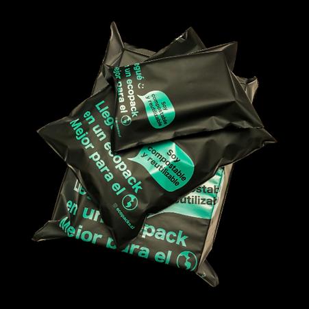 ecopack, empaque, packaging, bolsa, sustentable, ecológico, eco friendly, no contamina, amigable con el medio ambiente, compostable, biodegradable, para despachos, negocios, envíos, tiendas, ecommerce