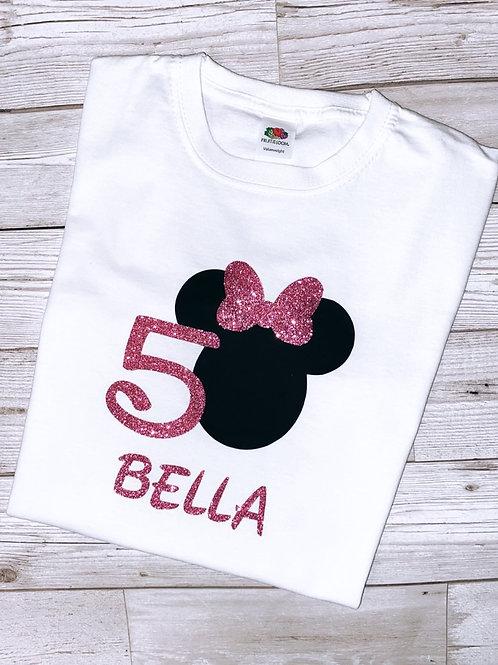 Girls Minnie style T-shirt