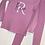 Thumbnail: Kids Unisex Personalised Loungewear Set/Custom Luxury Kids Loungewear Pyjama Leg
