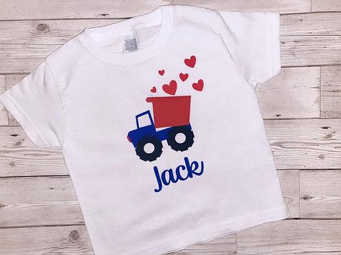 Boys truck T-shirt