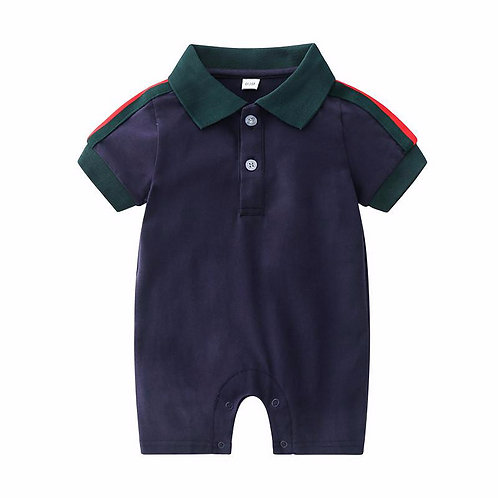 Babygrow navy or white