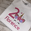 Thumbnail: Girls unicorn T-shirt, personalised any name any number/Birthday t-shirt/Girls d