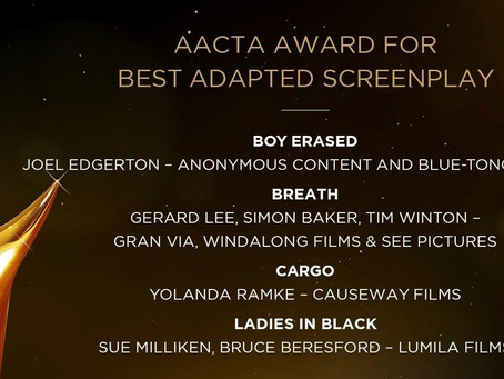 'Cargo' Scores Five AACTA Award Nominations, Including 'Best Film' & 'Best Adapted Screenplay'