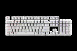 keycap 104 - pbt_white