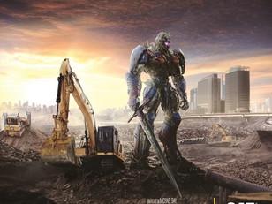 Transformers: escavadeira do filme está no Shopping