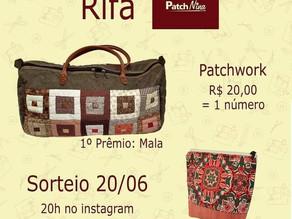 Patchnina realiza sorteio de bolsas no Instagram no dia 20 de junho