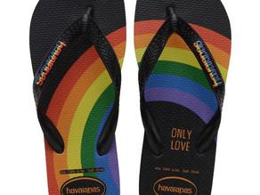 Orgulho o ano todo: Havaianas anuncia novidades na linha global Pride