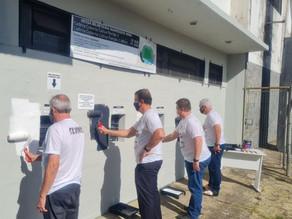 Revitalização: Prefeitura, XV de Piracicaba e Coral lançam campanha Já que tá que Pinte