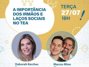 Neuropediatra Deborah Kerches, especialista em TEA, faz live com Marcos Mion nesta terça (27)