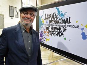 Salão de Humor é tema de podcast sobre influência do rio Piracicaba na cultura local