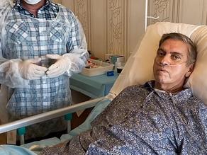 """""""Deus e a medicina operaram um milagre"""", diz José Luiz Ribeiro, após luta contra a Covid"""