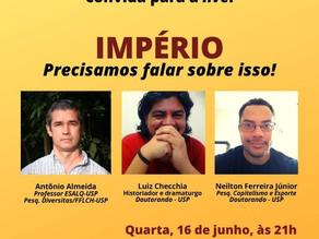 Grupo Conversas do Caminho realiza a primeira live da série de debates