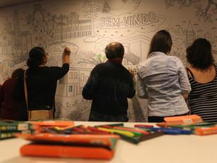 Entre Paredes: exposição interativa durante agosto, no Sesc