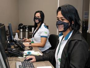 Câmara Inclusiva: Máscaras transparentes são adotadas nas recepções no Legislativo de Piracicaba