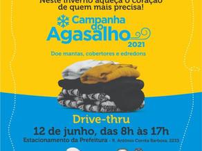 Neste sábado (12) é dia de drive thru da Campanha do Agasalho em Piracicaba